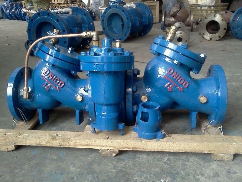 hs41x-a安全型倒流防止器_多功能水泵控制阀_减压稳压